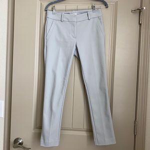 Loft Outlet Petite Modern Skinny Ankle Pants, Grey